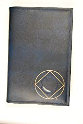 Narcotics Anonymous NA Basic Text (6th Ed) Book Cover Circle Diamond Symbol Blue