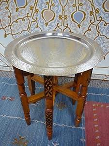 Marrakech Petite Silver Moroccan Table