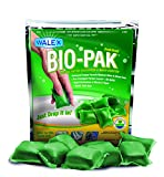 Walex BOI-11530 Bio-Pak Natural Holding Tank Deodorizer and Waste Digester Drop-Ins, Alpine Fresh Scent (Pack of 10)
