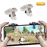 PUBG Mobile Game Controller, Ismael Erickson Phone Trigger Game Grip Gamepad Joystick Sensitive Shoot and Aim L1R1