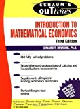 img - for Schaum's Outline Introduction to Mathematical Economics 3rd (third) Edition by Dowling, Edward published by McGraw-Hill (2000) book / textbook / text book