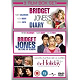 Bridget Jones's Diary/The Edge Of Reason/The Holiday [DVD]by Cameron Diaz
