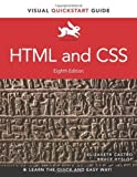img - for HTML and CSS: Visual QuickStart Guide (8th Edition) 8th by Castro, Elizabeth, Hyslop, Bruce (2013) Paperback book / textbook / text book