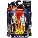 Clone Trooper 212th and Battle Droid Star Wars Mission Series MS04 Figure 2 Pack