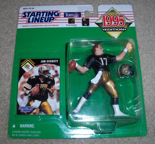 Jim Everett Starting Lineup 1995 New Orleans Saints