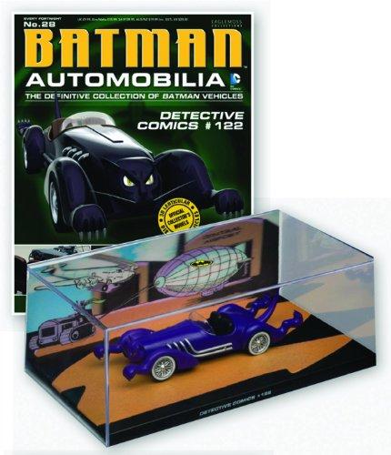 DC Batman Automobilia Figure & Magazine #28 Detective Comics #122