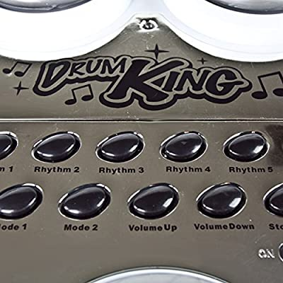 Electronic Toy Drum Set Digital Pad Musical Instrument
