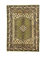 Eden Carpets Alfombra Kula Verde/Multicolor 245 x 170 cm