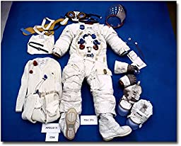 Apollo 11 Neil Armstrong Space Suit 11x14 Silver Halide Photo Print
