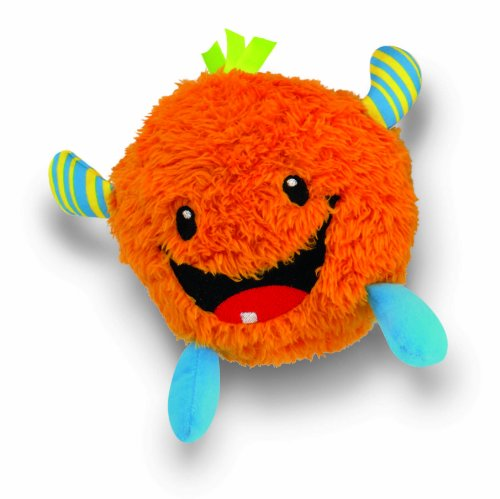 Fisher-Price Giggle Gang Plush Toy - Orange - 1