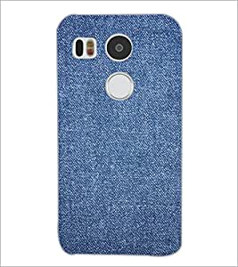 PrintDhaba Denim D-2411 Back Case Cover for LG NEXUS 5X (Multi-Coloured)