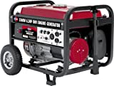 All Power America APG3002 3,500 Watt 6.5 HP OHV 4-Cycle Gas Powered Portable Generator with Wheel Kit