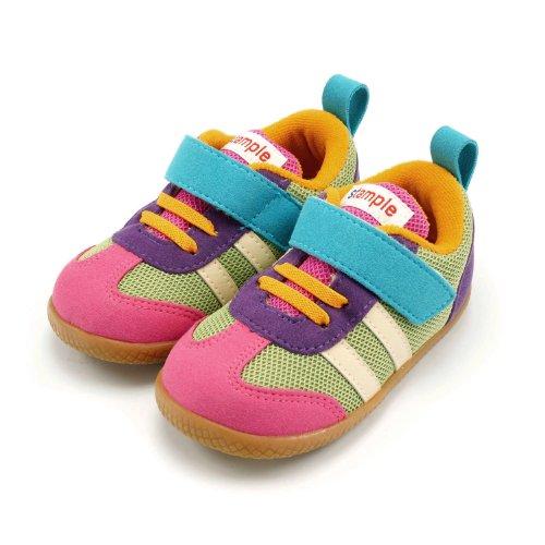 stample(スタンプル) Honki Shoes キッズ メッシュ スニーカー ミックスカラー 14.0cm [ウェア&シューズ]
