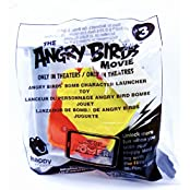 McDonald's The Angry Birds Bomb Character Launcher Toy,#3