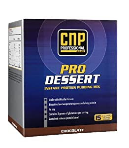 Dorian Yates CNP Professional ProDessert Instant Protein Pudding Mix, Chocolate, Single... by Dorian Yates