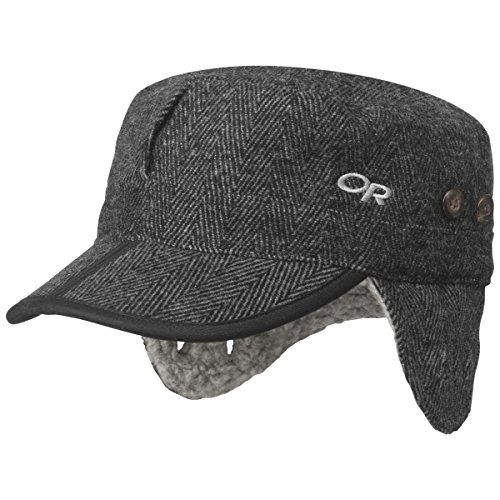 outdoor-research-yukon-cap-charcoal-herringbone-grosse-l-2016-kappe