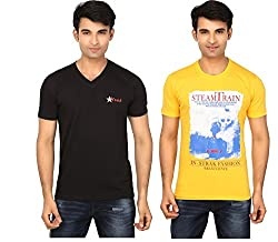 Strak Cotton Men's Casual T-Shirt (STR2050_XL)