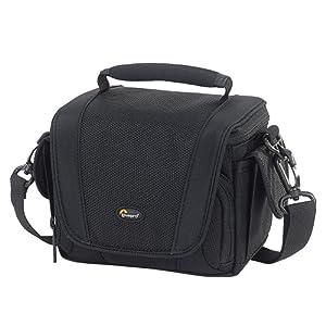 Lowepro Edit 110 Shoulder Bag For Digital Camcorders - Black by Lowepro