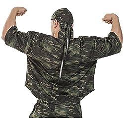BIG SAM SPORTSWEAR COMPANY Ragtop Rag Top Sweater Gym T-Shirt BODY DOG Logo *3153*