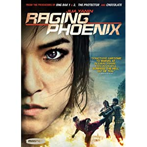 Raging Phoenix DVD Cover