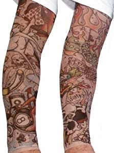 Tattoo sleeves rock a billy extra large for Tattoo sleeves amazon