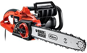 Black & Decker GK2240T 2200W 40cm 16-inch Chainsaw with Tool Free Blade Tensioning