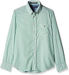 Gant Boys' Shirt (GBSFF0007_Light Green_XL)