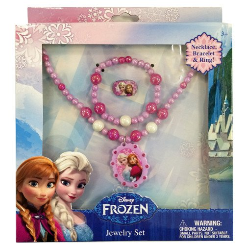 disney frozen jewelry box set with necklace bracelet
