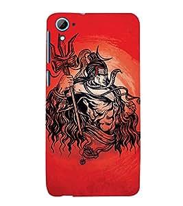 Vizagbeats Lord Maha Shiva Back Case Cover for HTC Desire 826::HTC Desire 826 Dual