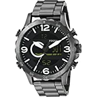 Fossil Men's JR1491 Silver Stainless-Steel Quartz Watch