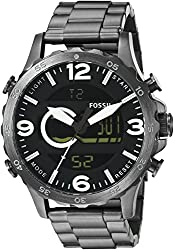 Fossil End-of-season Nate Casual Analog-Digital Black Dial Mens Watch - JR1491