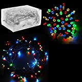 """30 Mini Bulb LED Battery Operated Fairy String Lights in Assorted Colors, for Christmas, Wedding, Home Decoration, Crafts (158"""" inch Long String) by Super Z Outlet"""