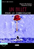 Un billet pour le commissaire - Buch mit Audio-CD (Lire et s'Entraîner - A2)