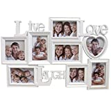 Bilderrahmen Fotorahmen - Live Love Laugh - Fotogalerie für...