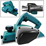 Home Improvement - 650W Electric Wood Planer Door Plane Hand Held Woodworking Surface 2 Blades F...