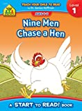 Nine Men Chase a Hen, Level 1 (0887430090) by Barbara Gregorich