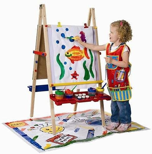 Easel on Alex Toys Magnetic Artist Easel