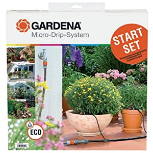 Gardena 1399 Micro-Drip Multiple Application Drip Irrigation Starter Set