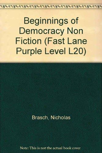 Beginnings of Democracy Fast Lane Purple Non-Fiction