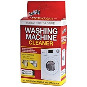 cleaning a washing machine with