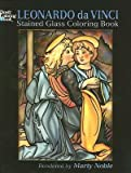 img - for [(Leonardo da Vinci Stained Glass Coloring Book )] [Author: Leonardo da Vinci] [May-2006] book / textbook / text book