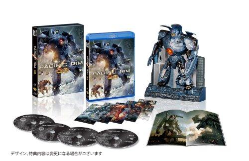 パシフィック・リム イェーガー プレミアムBOX 3D付き (4枚組)(5,000BOX限定生産) [Blu-ray]