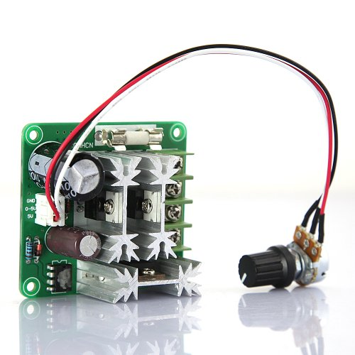 Tabstore New Dc Motor Speed Controller 15A Overload Short Circuit Protecting Current Dc 6V-90V Input Supply Voltage 1000W