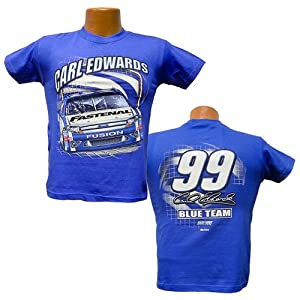 Buy #99 Carl Edwards Youth Fastenal Team Color Tee Shirt -96099 by Brickels
