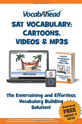 VocabAhead SAT Vocabulary: Cartoons, Videos & MP3s