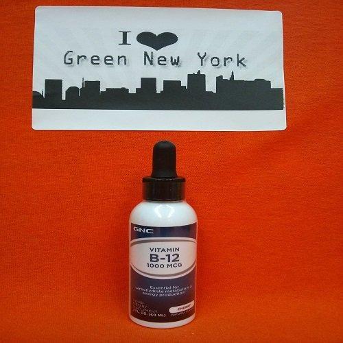 Gnc Liquid Vitamin B-12, 2 Fl Oz