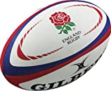 Gilbert Men's Replica Rugby International Ball, Mini
