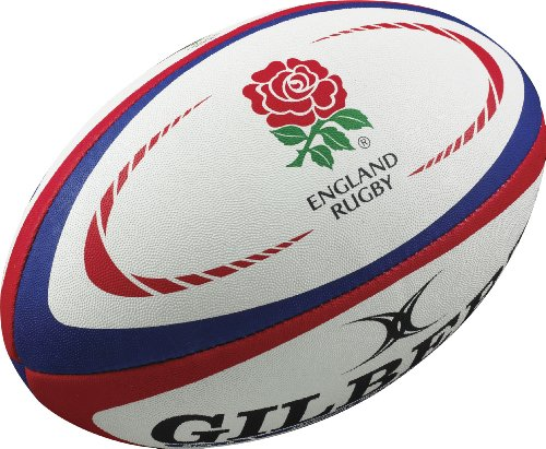 Gilbert England Rugby Replica Ball - Size 5