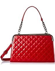 Lino Perros Women's Handbag (Red) - B01KOI0XBI