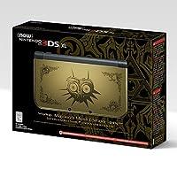 Nintendo - 3DS XL Legend of Zelda: Majora's Mask Limited Edition - Gold/Black from Nintendo